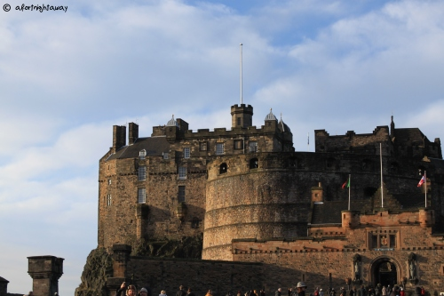 edinburgh scottland castle