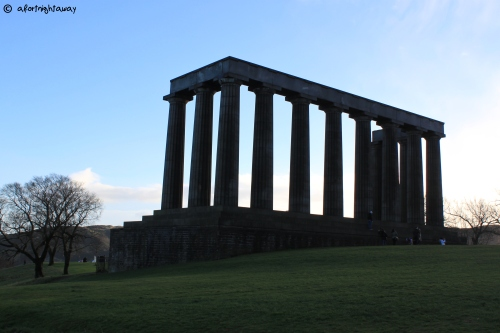 monument national edinburgh scotland