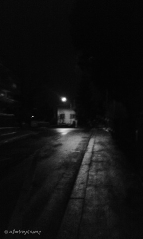 street lights streetlamp darkness night