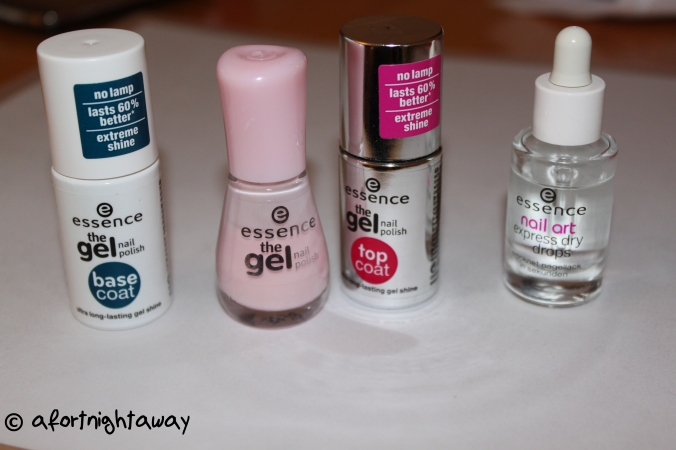 essence gel nail polish series