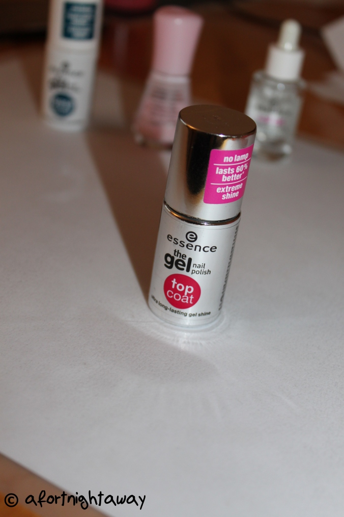 essence nail polish top coat
