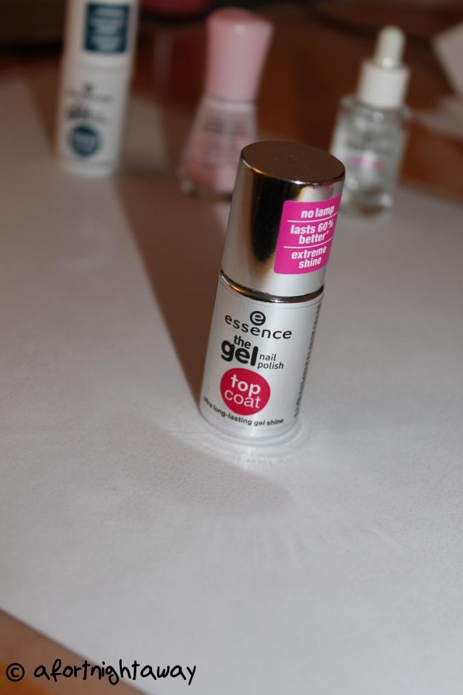 essence nail polish top coat