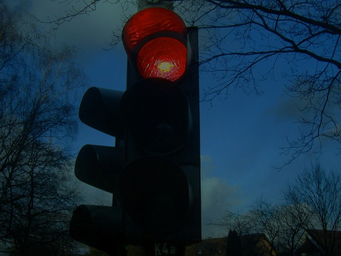 traffic light red sign