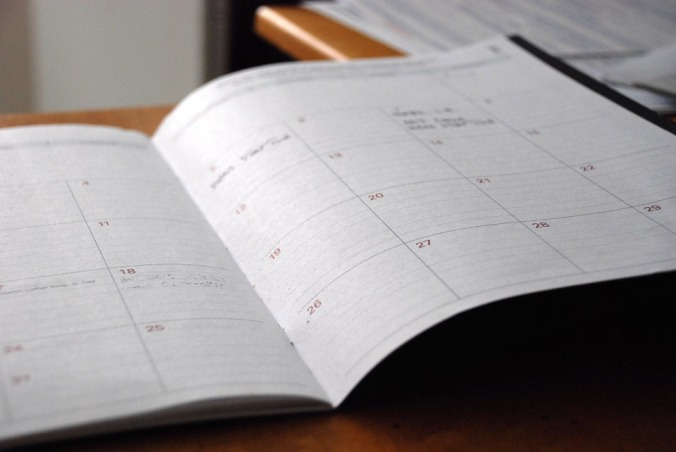 day planner agenda diary planning organizing