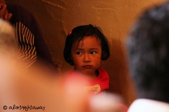 face, little girl, Tibetan monastic community